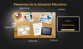 Copy of Elementos de  la Situación Educativa.