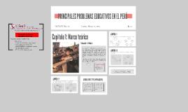 Copy of PRINCIPALES PROBLEMAS EDUCATIVOS EN EL PERÚ