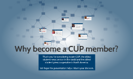 Becoming a CUP member