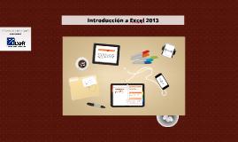 Copy of Introducción a Excel 2013