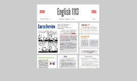 English 1113_MW