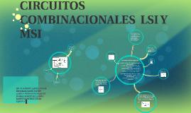 Copy of CIRCUITOS COMBINACIONALES  LSI Y MSI
