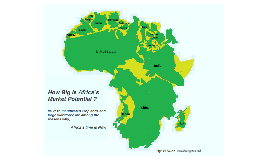 Copy of Africa`s Market Potential