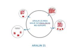 ARALIN 21 MGA SALIK SA PAGLAKAS NG EUROPE