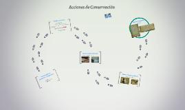 Acciones de Conservación