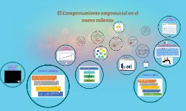 Copy of El Comportamiento empresarial en el nuevo milenio: