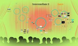Intermediate 3 - Unit 8