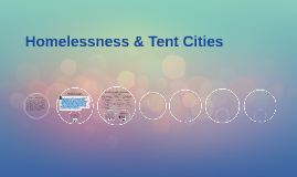 Homelessness & Tent Cities