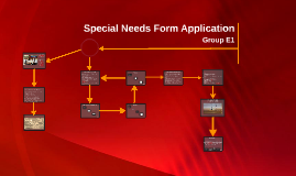 Copy of Copy of Special Needs Form Application