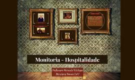 Monitoria - Hospitalidade