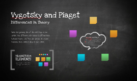 Vygotsky and Piaget