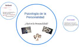 Copy of Psicología de la Personalidad