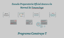 Programa Construye T