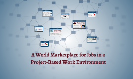 A World Marketplace for Jobs in a Project-Based Work Environ