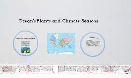Ocean's Plants and Climate Seasons