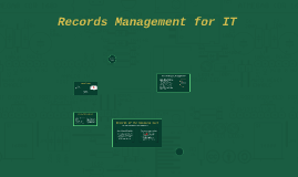 Records Management for IT