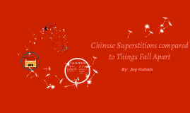 superstitions in things fall apart