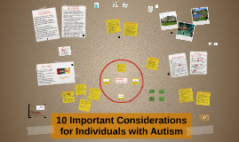 10 Important Considerations for Individuals with Autism