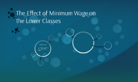 The Effect of Minimum Wage on the Lower Classes