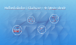 De første skridt mod Helhedsskolen i Gladsaxe