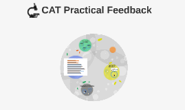 CAT Practical Feedback