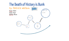 Copy of The Death of History is Bunk