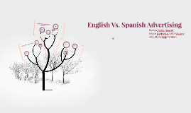 English Vs. Spanish Advertising