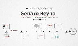 Timeline Prezumé de Genaro Reyna