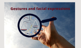 Copy of Gestures and facial expressions