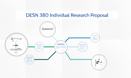 Copy of DESN 380 Individual Research Proposal