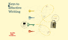Keys to Effective Writing