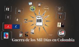 Guerra de los mil Días en Colombia