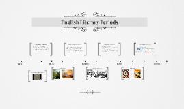 English Literary Periods