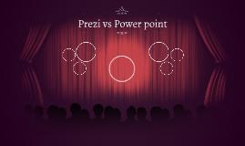 Prezi vs Power point