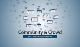 Community & Crowd