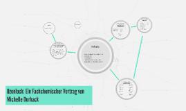 Ozonloch: Ein Fachchemischer Vortrag von Michelle Durhack