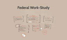 Federal Work Study 2016-2017