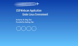 USB Webcam Application under Linux Environment