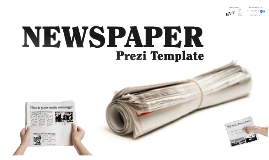 Newspapers prezi template by Prezzip