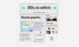 SIRIA y sus conflictos