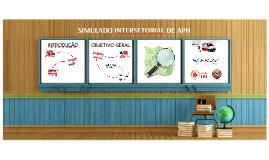 SIMULADO INTERSETORIAL DE APH