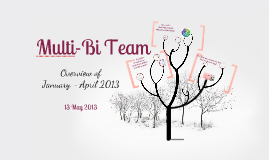 MultiBi presentation all staff