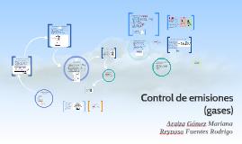Control de emisiones
