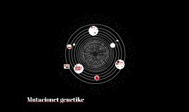 Mutacionet genetike