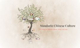 Mandarin Chinese Culture