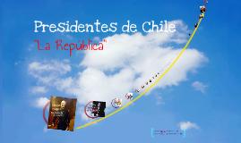 Presidentes de Chile.