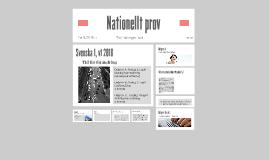 Nationellt prov - Sv1