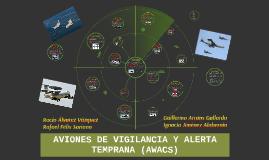 AVIONES DE VIGILANCIA Y ALERTA TEMPRANA