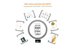 BIA como cimiento del SGCN