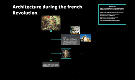 Copy of Architecture during the french Revolution.